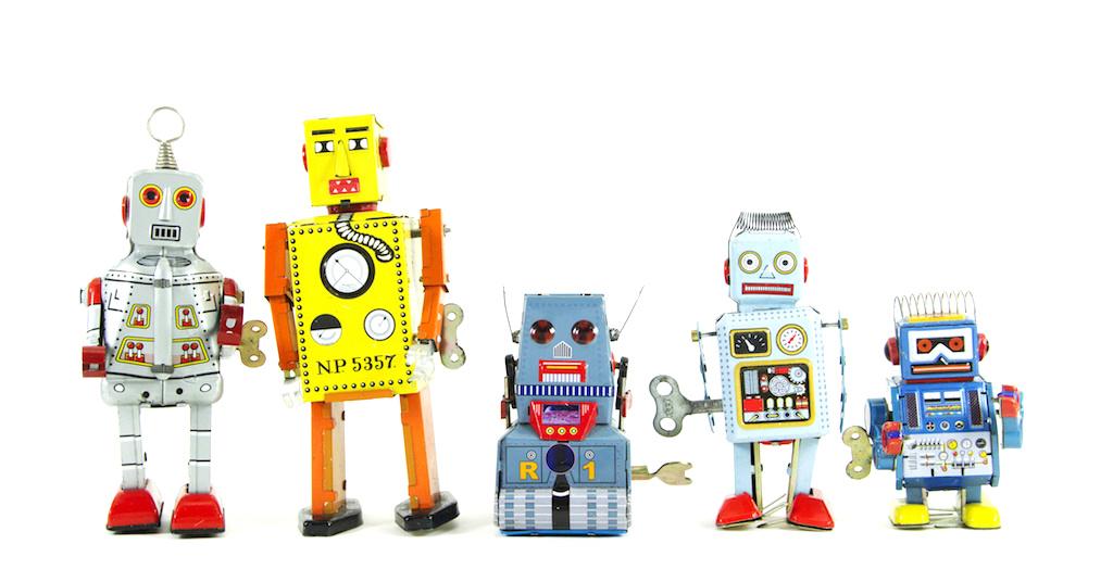 testautomatisering robotar